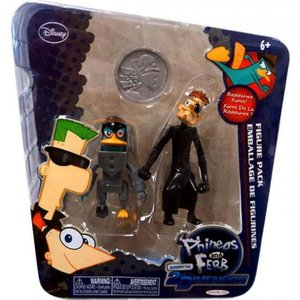 フィニアスとファーブ Phineas and Ferb フィギュア Disney Across the 2nd Dimension Platyborg & Dr. Heinz Doofenshmirtz Action Figure 2-Pack|fermart-hobby
