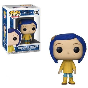 コララインとボタンの魔女 Coraline フィギュア POP! Animation in Raincoat Vinyl Figure #423 [No Hat, Regular Version]|fermart-hobby