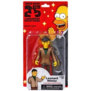 ザ シンプソンズ The Simpsons フィギュア シリーズ3 Greatest Guest Stars Series 3 Leonard Nimoy Action FIgure|fermart-hobby