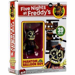 ファイヴナイツアットフレディーズ Five Nights at Freddy's マクファーレントイズ おもちゃ Office Hallway Micro Construction Set [Phantom Balloon Boy]|fermart-hobby