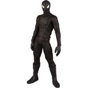スパイダーマン Spider-Man メディコム Medicom Toys フィギュア おもちゃ 3 Real Action Heroes Black Costume 12 Inch Action Figure|fermart-hobby