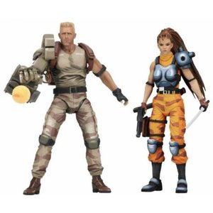 エイリアン Alien vs Predator フィギュア Arcade Game Dutch & Lin Action Figure 2-Pack|fermart-hobby