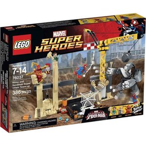 サンドマン Sandman レゴ LEGO おもちゃ Marvel Super Heroes Ultimate Spider-Man Rhino & Super Villain Team-up Set #76037|fermart-hobby