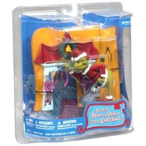 マクファーレントイズ McFarlane Toys フィギュア おもちゃ Dr. Seuss How the Grinch Stole Christmas! You're a Mean One Mr. Grinch Action Figure|fermart-hobby