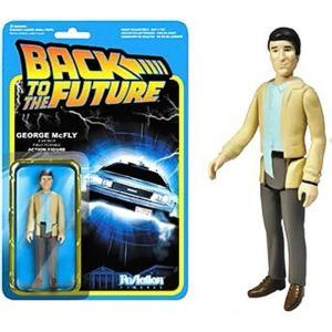 バック トゥ ザ フューチャー Back to the Future フィギュア ReAction George McFly Action FIgure|fermart-hobby