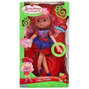 ストロベリーショートケーキ Strawberry Shortcake プレイメイツ Playmates ぬいぐるみ おもちゃ Berry Beautiful Surprise Crepes Suzette 12-Inch Plush Doll|fermart-hobby
