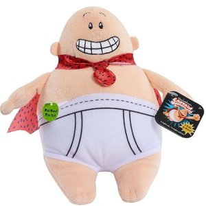 スーパーヒーロー パンツマン Captain Underpants ジャストプレイ Just Play ぬいぐるみ おもちゃ Talking Plush|fermart-hobby