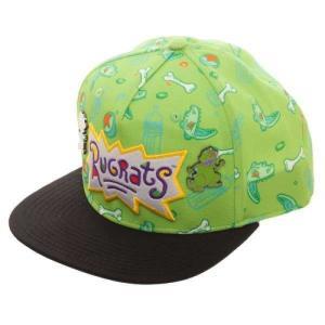 ラグラッツ Rugrats バイオワールド Bioworld ユニセックス キャップ 帽子 Sublimated Snapback Cap with Lapel Pins|fermart-hobby