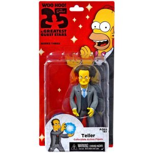 ザ シンプソンズ The Simpsons フィギュア シリーズ3 Greatest Guest Stars Series 3 Teller Action FIgure|fermart-hobby