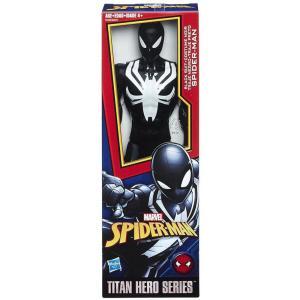 スパイダーマン Spider-Man ハズブロ Hasbro Toys フィギュア おもちゃ Titan Hero Series Web Warriors Black Suit Action Figure|fermart-hobby