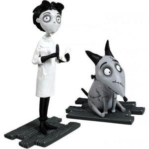 フランケンウィニー Frankenweenie ブリッジ ダイレクト Bridge Direct フィギュア おもちゃ After Life Sparky & Lab Coat Victor Mini Figure 2-Pack fermart-hobby
