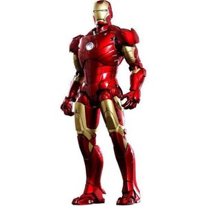 アイアンマン Iron Man ホットトイズ Hot Toys フィギュア おもちゃ Movie Masterpiece 1/6 Collectible Figure [Mark III]|fermart-hobby