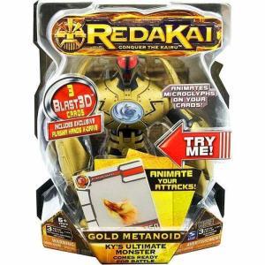 レッダカイ Redakai スピンマスター Spin Master フィギュア おもちゃ Deluxe Gold Metanoid Action Figure|fermart-hobby
