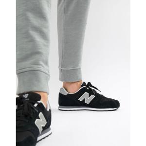 ニューバランス メンズ スニーカー シューズ・靴 New Balance Modern Classic 373 Trainers In Black ML373GRE Black|fermart-shoes