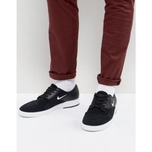 ナイキ メンズ スニーカー シューズ・靴 Nike SB Zoom P-Rod X Trainers In Black 918304-011 Black fermart-shoes