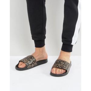 リーボック メンズ サンダル シューズ・靴 Reebok Classic Sliders In Black BS7847 Black fermart-shoes