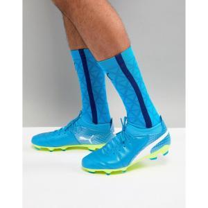 プーマ メンズ シューズ・靴 サッカー Puma One Football Boots 17.2 Firm Ground In Blue 10406803 Blue fermart-shoes