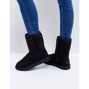 アグ レディース ブーツ シューズ・靴 UGG Classic Short II Black Boots Black|fermart-shoes