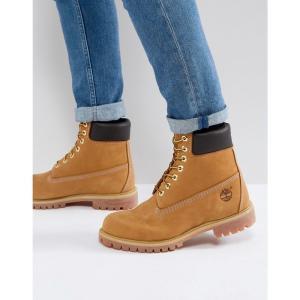 ティンバーランド メンズ ブーツ シューズ・靴 Timberland Classic 6 Inch Premium Boots Wheat|fermart-shoes