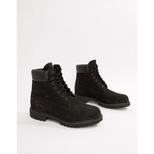 ティンバーランド メンズ ブーツ シューズ・靴 Timberland Classic 6 Inch Premium Boots Black|fermart-shoes