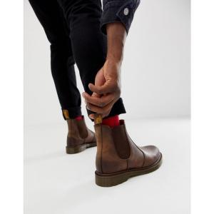 ドクターマーチン Dr Martens メンズ ブーツ チェルシーブーツ シューズ・靴 2976 chelsea boots in brown ブラウン|fermart-shoes