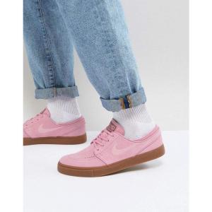 ナイキ メンズ スニーカー シューズ・靴 Stefan Janoski Trainers With Gum Sole In Pink 333824-604 Pink|fermart-shoes