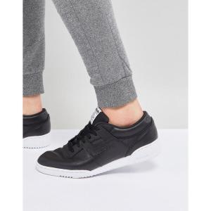 リーボック メンズ スニーカー シューズ・靴 Reebok Workout LO Clean ID Trainers In Black BS9830 Black fermart-shoes