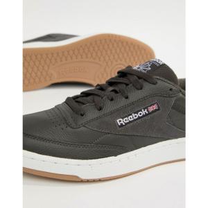 リーボック メンズ スニーカー シューズ・靴 Club C 85 Essential Trainers In Blue CM8795 Blue|fermart-shoes