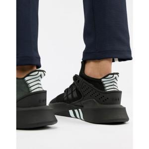 アディダス メンズ スニーカー シューズ・靴 EQT Bask ADV Trainers In Black CQ2991 Black|fermart-shoes