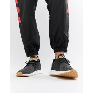 アディダス adidas Originals メンズ スニーカー シューズ・靴 X PLR Trainers In Black AH2360 Black|fermart-shoes