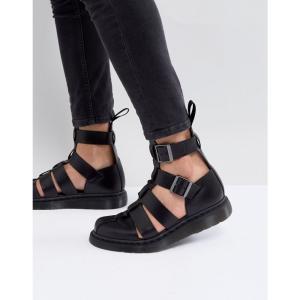 ドクターマーチン Dr Martens メンズ サンダル シューズ・靴 Geraldo ankle strap sandals in black Black fermart-shoes