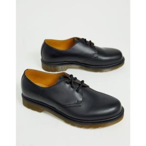 ドクターマーチン Dr Martens メンズ シューズ・靴 1461 pw 3-eye shoes in black Black fermart-shoes