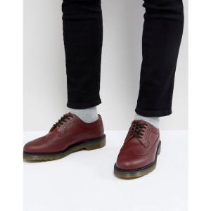 ドクターマーチン Dr Martens メンズ 革靴・ビジネスシューズ シューズ・靴 3989 brogues in cherry red Red fermart-shoes