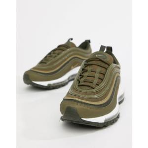 ナイキ Nike レディース スニーカー シューズ・靴 Khaki Air Max 97 Trainers Khaki|fermart-shoes