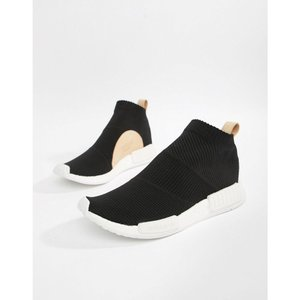 アディダス adidas Originals メンズ スニーカー シューズ・靴 NMD_CS1 PK Trainers In Black AQ0948 Black|fermart-shoes