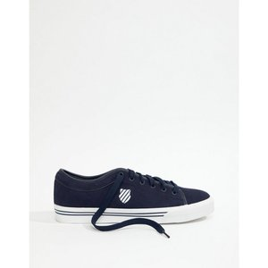 ケースイス メンズ シューズ・靴 Bridgeport II Plimsolls In Suede Navy|fermart-shoes