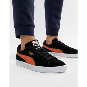 プーマ Puma メンズ スニーカー シューズ・靴 Suede trainers in black 36534738 Black|fermart-shoes