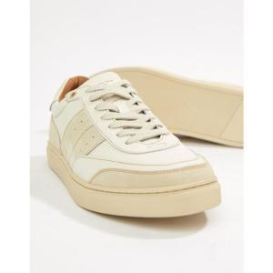 セレクテッド オム Selected Homme メンズ スニーカー シューズ・靴 Premium Trainer With Suede Leather Details White|fermart-shoes
