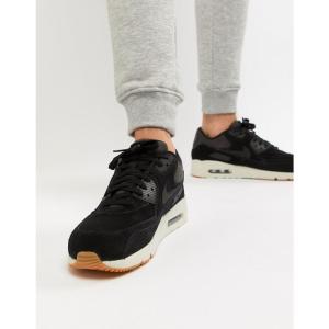 ナイキ Nike メンズ スニーカー シューズ・靴 Air Max 90 Ultra Leather Trainers In Black 924447-003 Black|fermart-shoes
