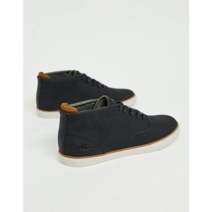 ラコステ Lacoste メンズ ブーツ シューズ・靴 Esparre winter c 318 3 chukka boots in black Black|fermart-shoes