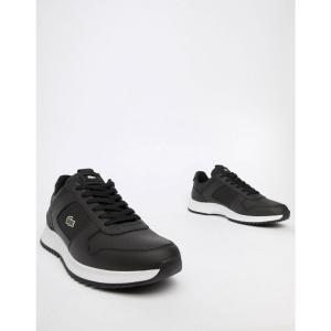ラコステ Lacoste メンズ スニーカー シューズ・靴 Joggeur 2.0 318 1 trainers in black Black|fermart-shoes