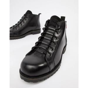 リーバイス Levis メンズ ブーツ シューズ・靴 Levi's lexington leather boot in black Regular black|fermart-shoes