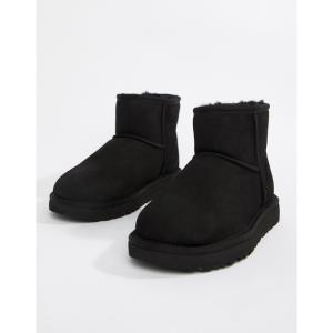 アグ UGG レディース ブーツ シューズ・靴 Classic Mini II Black Boots Black|fermart-shoes