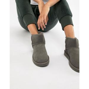 アグ UGG レディース ブーツ シューズ・靴 Classic Mini II Grey Boots Grey|fermart-shoes