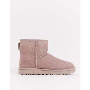 アグ UGG レディース ブーツ シューズ・靴 Classic Mini II Pink Boots Dusk|fermart-shoes