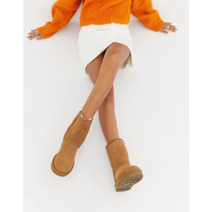 アグ UGG レディース ブーツ シューズ・靴 Classic Short II Chestnut Boots Chestnut|fermart-shoes