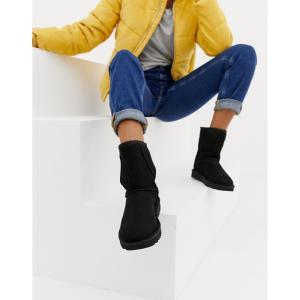 アグ UGG レディース ブーツ シューズ・靴 Classic Short II Black Boots Black|fermart-shoes