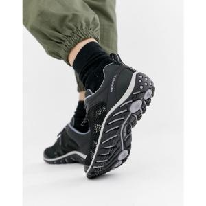 メレル Merrell レディース シューズ・靴 ハイキング・登山 Rapidbow hiking trainers in black Black|fermart-shoes