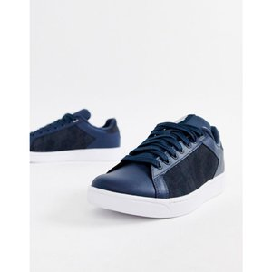 ケースイス K-Swiss メンズ スニーカー シューズ・靴 K Swiss Clean Court trainer in navy Navy|fermart-shoes