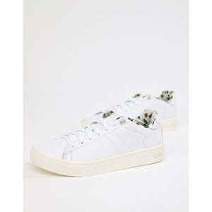 ケースイス K-Swiss レディース スニーカー シューズ・靴 K Swiss Court Frasco trainer in white White|fermart-shoes